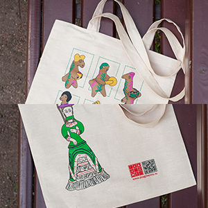 """Clay Toys"" Canvas Bags"